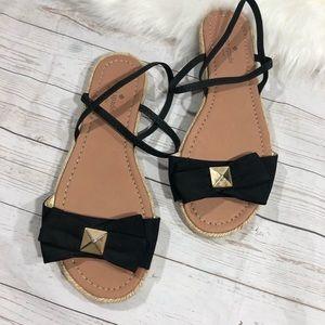 Kate Spade Slingback espadrilles Bow Sandals